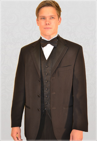 Hugo James Microfibre 3 Button Designer Dinner Suit