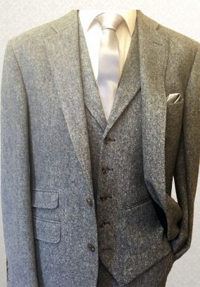 Tweed Grey Lounge Suit