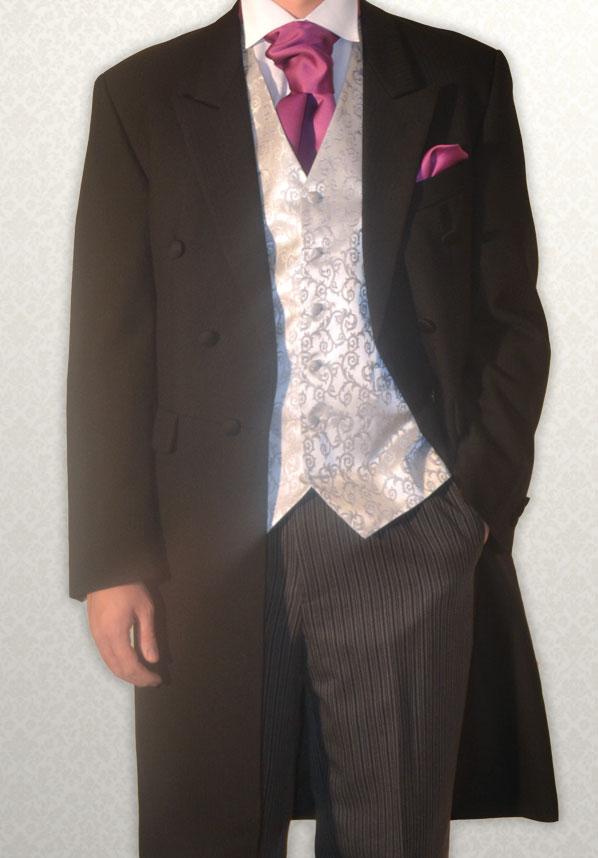 Black Full Length Frock Coat