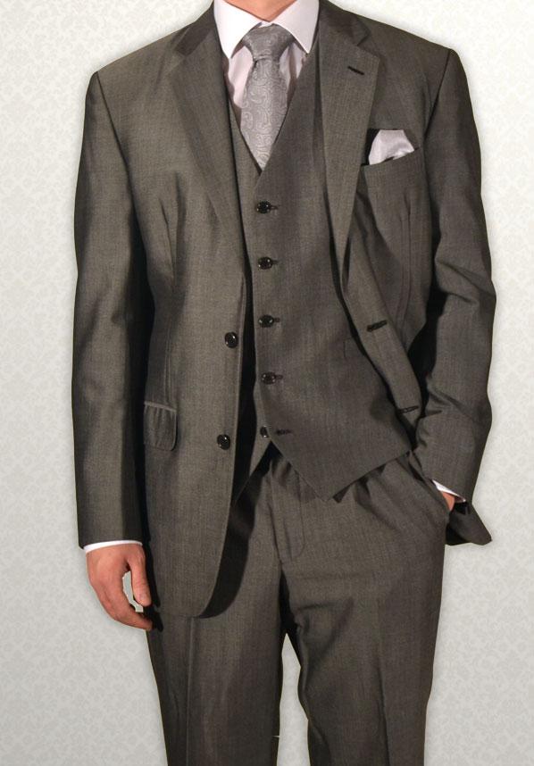 Modern grey Mohair lightweight lounge suit