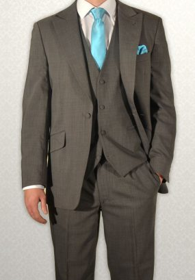 Modern mid-grey Mohair lightweight lounge suit