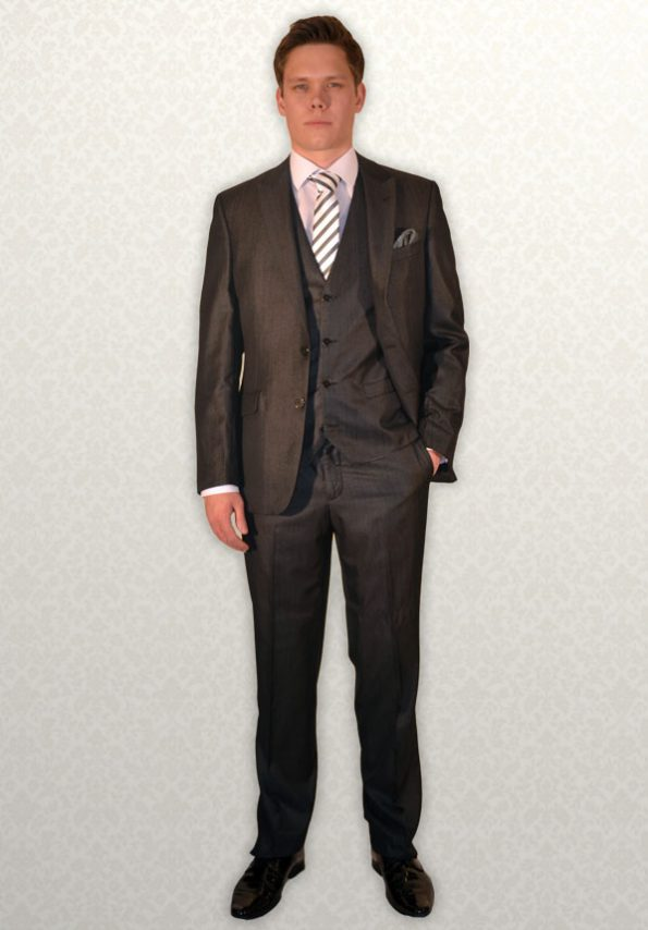 Charcoal Masterhand Lounge Suit