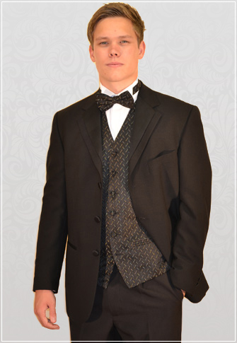 Hugo James 3 Button Designer Dinner Suit