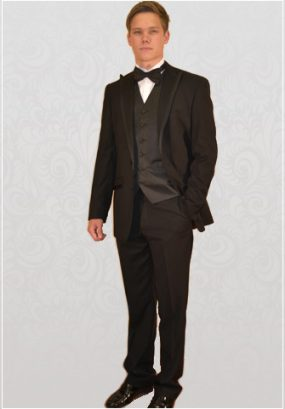 LIGHTWEIGHT SLIM-FIT SINGLE-BREASTED DINNER SUIT