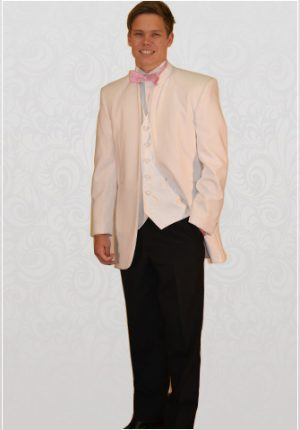 White Nero 3/4 Dinner Suit
