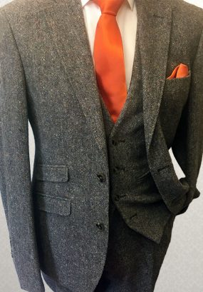 Tweed Brown Lounge Suit