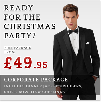 Corporate Christmas Suit Package